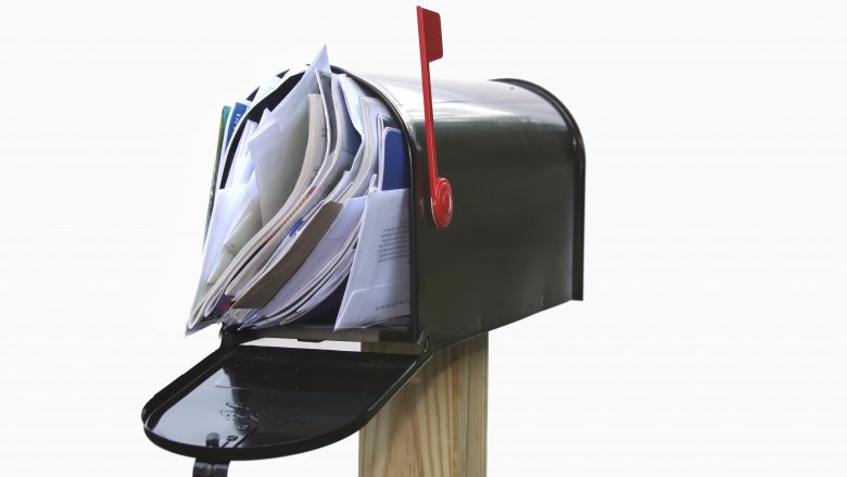 Mail in mailbox